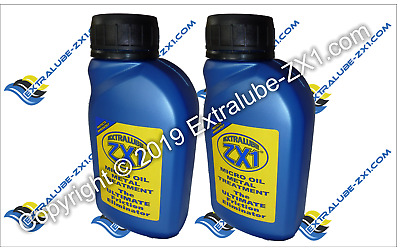 Extralube ZX1 Super SAVER Bundle - 2 x ZX1 250ml - Official UK Seller