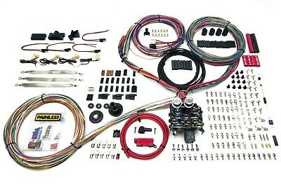 Painless Wiring 23 Circuit Harness - Pro-Series - Key In Dash  - Grommet
