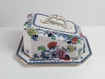 Burslem 1912-36, Losol Ware, Chusan Large Cheese Dish by Keeling & Co (Ltd)
