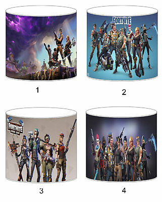Fortnite Childrens Lampshades Ceiling Light Table Lamp To Match Bedding Curtains
