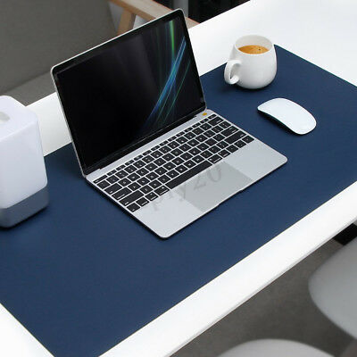ATailorBird PU Leather Non-Slip PC Keyboard Mouse Pad Mat Dual Sided Waterproof