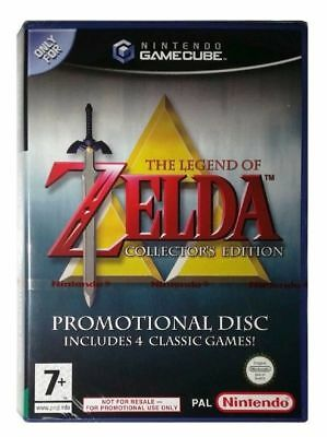 The Legend Of Zelda Collector's Edition / Promotional Disc / Used Gamecube Game