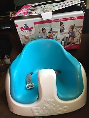 Blue Bumbo Multi Seat With Tray With Box