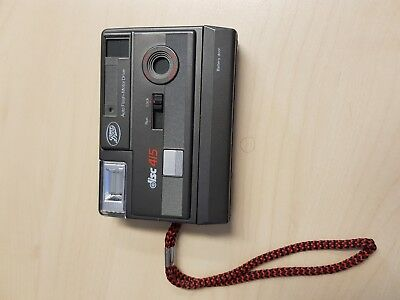 Vintage Boots Disc 415 Camera and Case