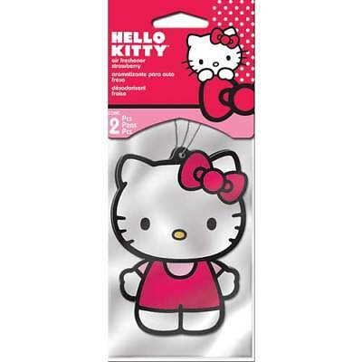 Plasticolor 005514R01 Hello Kitty Air Freshener - 2 Pack