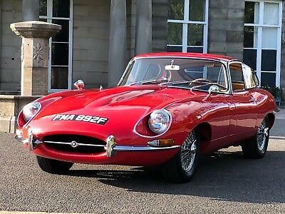 Jaguar E Type FHC 4.2 manual 1968 LHD 49000 miles only from new