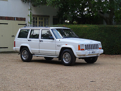 """Jeep Cherokee XJ 4 Litre Pre Face Lift """" Special Order One Off Collectors Model"""