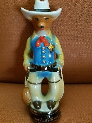 Vintage Jim Beam 9th Annual Convention Gulf Coast Cowboy Marshal Fox 1979