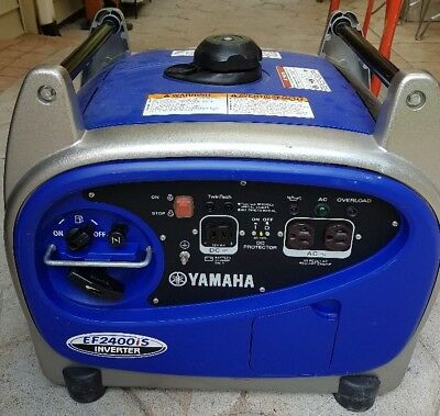 Used Yamaha Inverter generator EF2400is