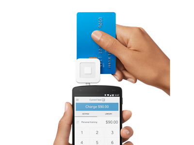 Smart Payment Square Chip Card Reader Payment Business Pos Solution Free Postage