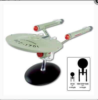 Star Trek Official Starship Collection - U.S.S Enterprise NCC-1701 Model Ship 28