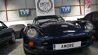 TVR Chimaera 400 (PAS) in Starmist Blue 43k and 3 prev. owners (last 15 years).
