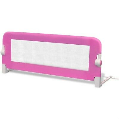 Baby Beds Guard Toddler Safety Bed Rail Protection 102x42cm Pink