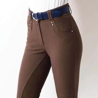 Equetech Harmony Breeches, Chocolate Brown, size 32""