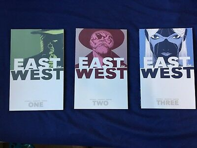 East Of West Graphic Novel Volume 1, 2 & 3