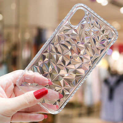 For Apple iPhone Xs Max Xr Handy Hülle Diamant Silikon Schutz Cover Case Tasche