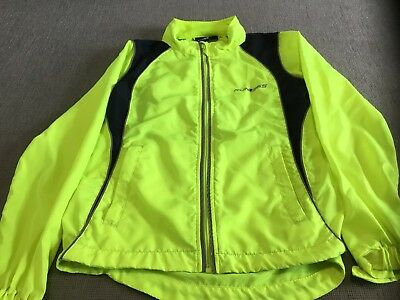 Kids Fluorescent Green Run 365 Jacket