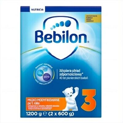 Bebilon 3 Junior with Pronutra +, modified milk / BEBILON Z PRONUTRA+ 3 -1200g