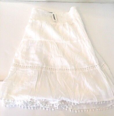 9780b5083 Old Navy Women's Smocked Tiered Lined Flirty Skirt Plus Size 3X - NEW
