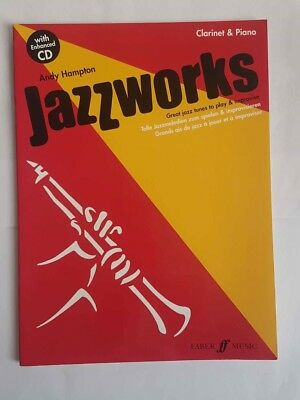 Jazzworks Instrumental Solo Learn to Play & CD Clarinet Songs