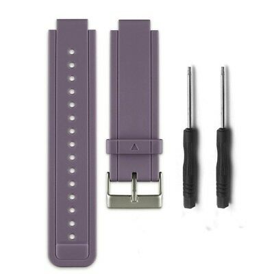 (Grey) - HWHMH Replacement Silicone Bands With Pin Removal Tools for Garmin