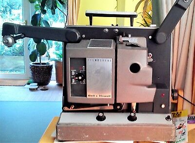 Bell & Howell 16mm Sound Film Projector 652 model