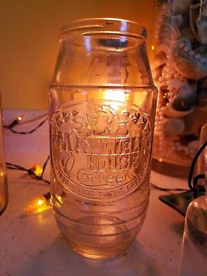 Vintage Anchor Hocking Maxwell House Coffee Glass Jar 8in Good To The last Drop