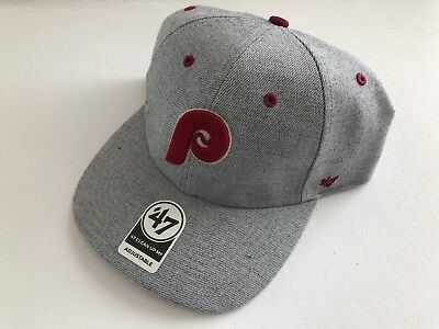 the latest 5f3b8 97cba ... usa 47 brand philadelphia phillies clean up dad hat mid fit mf adult  strapback cap d9a8e
