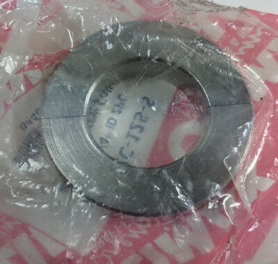 """Climax Metal H2C-125-S 1-1/4"""" ID 2-Piece Stainless Steel Clamp-On Shaft Collar"""