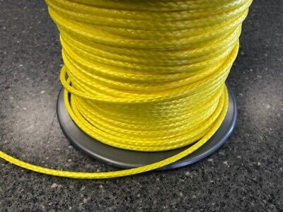 6mm X 100M Silver Dyneema® Fiber Synthetic Winch/ yacht rope tensile:4100kg -NEW