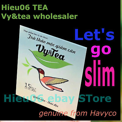 Vy&tea natural herbal tea help weight loss body - genuine products from Havyco