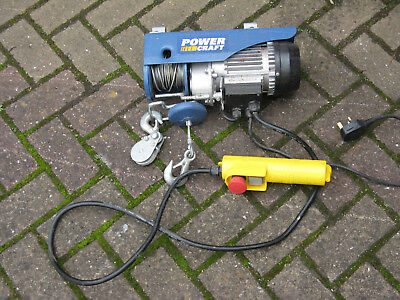 unused Power craft 550w Electric Cable hoist CAN HOIST 250kg