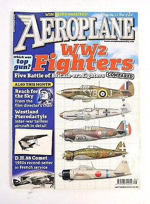 Aeroplane Magazine September 2010 Ww2 Fighter Comparison Dh.88 Comet In France