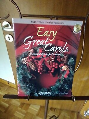 NEW - Easy Great Carols with play-along CD), pub: Curnow Music