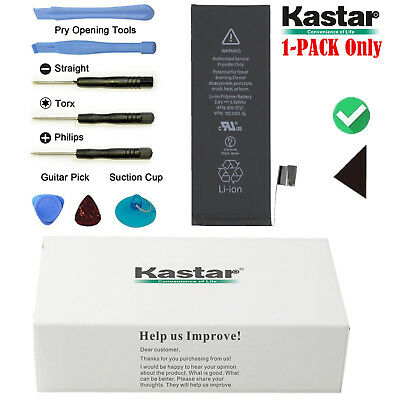 Kaster Replacement Internal 3.8V Li-ion Battery + Tool Kit For Apple iPhone 5S