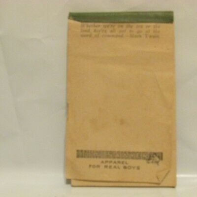 Vintage Tom Sawyer Apparel For Real Boys Notepad Mark Twain Quote