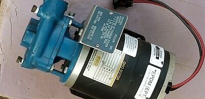 Scot Pump Model 69 27V Dc 10Amp 1/4Hp 69-25Dc Centrifugal Pump
