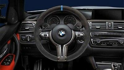 New Genuine BMW M Performance Carbon/Alcantara Steering Wheel M3 M4 32302344147