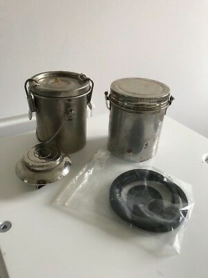 Holbein Portable Metal Brush Washers and Single Palette Cup