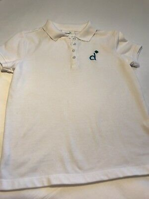 NWOT Official Girl Scout Daisy Polo Shirt Size M (10-12)
