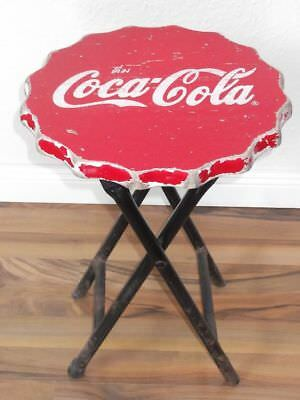 Coca Cola Klapp Hocker