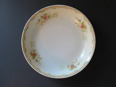 Vintage Esco China Japan Bowl~Pretty Floral Pattern~Pink Mums?~Nice condition!