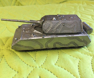 WORLD OF TANKS WWII 1:72 metal model TIGER German heavy Tank