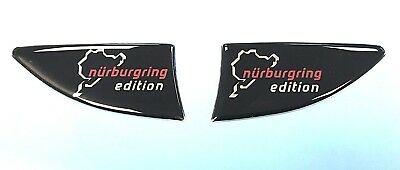Nurburgring Edition Repeater - Indicator Stickers - HIGH GLOSS DOMED GEL - Corsa