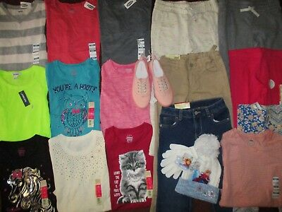 Girls Size 7 8 FALL WINTER SCHOOL Name Brand Lot Clothes & Outfits BRAND NEW!!!