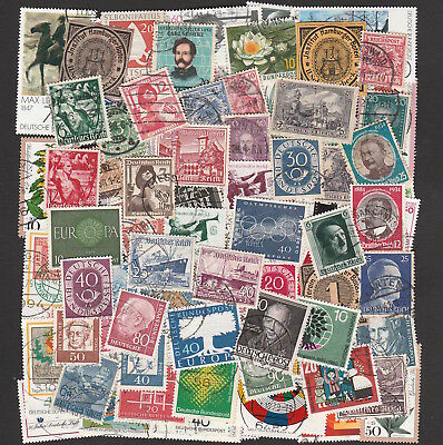 Germany All Periods Large Collection Of Stamps Including High Values (80)