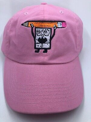 Pink Designer funny street wear Embroidered dad hat strap back one size fit most