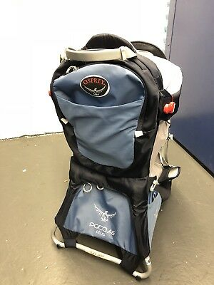 2524cb9d4bb OSPREY POCO AG Plus Baby Carrier Blue Backpack -  205.00