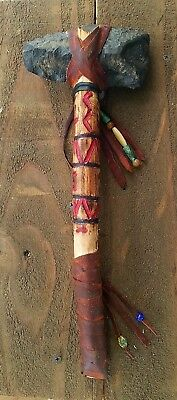 NATIVE AMERICAN STYLE TOMAHAWK..(wall hanger or use in reenactments)