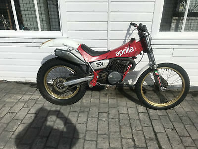 APRILIA TX311 280cc ROAD REG'D TWINSHOCK ACM CLASS TRIALS BIKE